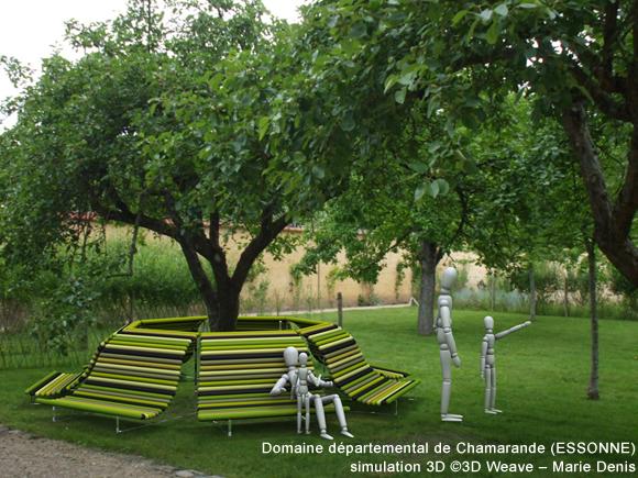 Prototypage simulation et incrustation 3d artistiques for Amenagement parc et jardin