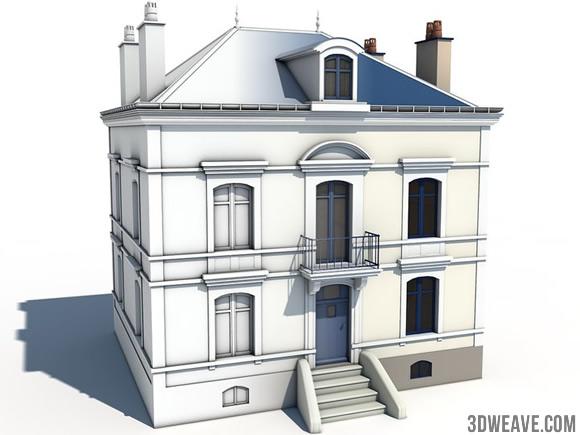 m tier apprendre le rendu d architecture avec cinema4d. Black Bedroom Furniture Sets. Home Design Ideas