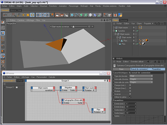 XPresso : programmer visuellement avec Cinema4D - 3d Weave