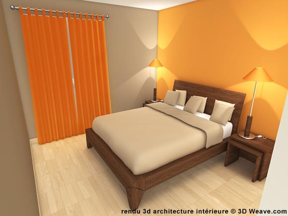 Visualisation d 39 architecture immobilier immeuble en 3d - Simulation decoration interieure ...